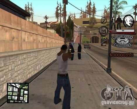 C-HUD Bikers для GTA San Andreas