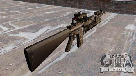 Тактическая винтовка M16A4 для GTA 4 второй скриншот