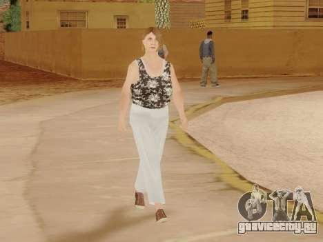 Пожилая женщина v.2 для GTA San Andreas двенадцатый скриншот