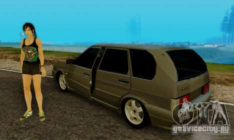 ВАЗ 2115 Универсал для GTA San Andreas вид сзади