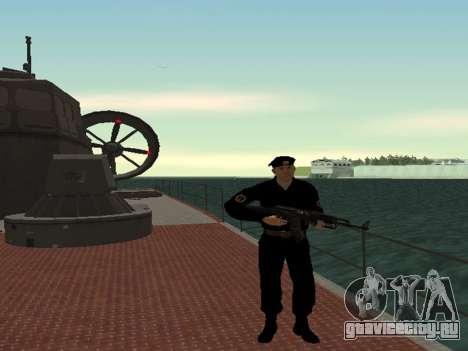 Морская Пехота ВС РФ для GTA San Andreas второй скриншот