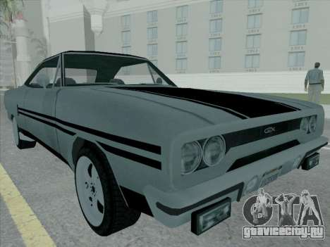 Plymouth Road RunneR GTX 1970 для GTA San Andreas вид слева