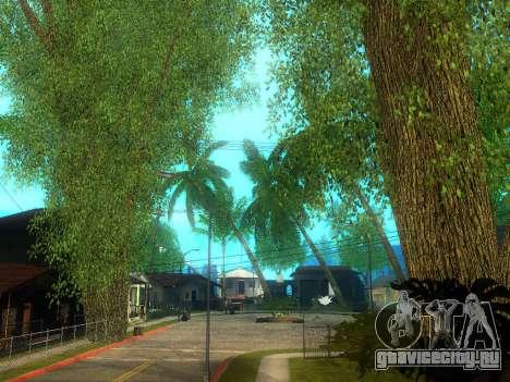 New Grove Street v2.0 для GTA San Andreas шестой скриншот