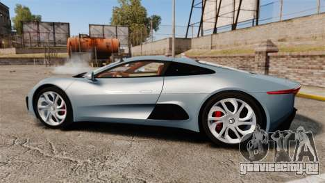 Jaguar C-X75 2014 [EPM] для GTA 4 вид слева