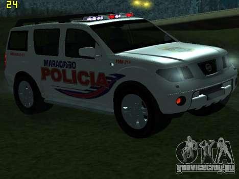 Nissan Pathfinder Polimaracaibo для GTA San Andreas вид снизу