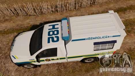 Volkswagen Amarok 2012 SAPS [ELS] для GTA 4 вид справа
