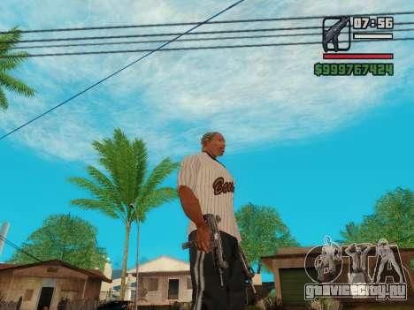 Пистолет-пулемёт UZI для GTA San Andreas пятый скриншот