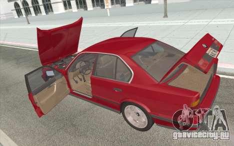 BMW M5 E34 1991 NA-spec для GTA San Andreas вид сбоку