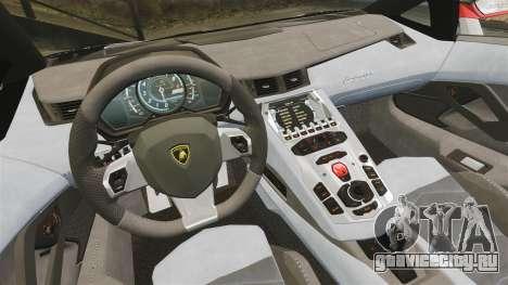 Lamborghini Aventador LP700-4 2012 Adidas Carbon для GTA 4