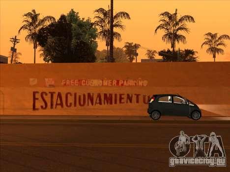 Mitsubishi i MiEV для GTA San Andreas вид сзади слева