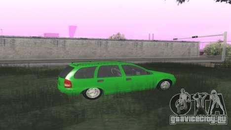 Chevrolet Corsa Wagon для GTA San Andreas вид справа