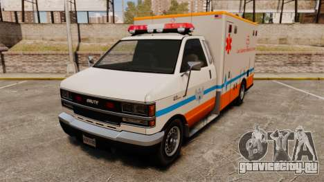Brute LSMC Paramedic для GTA 4