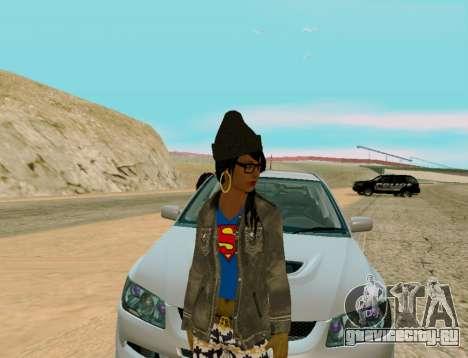 Girl Swagg для GTA San Andreas второй скриншот