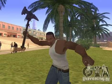 Baton Marker для GTA San Andreas третий скриншот