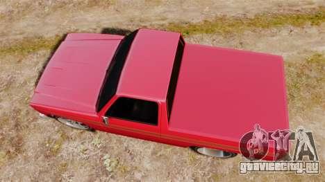 Rancher Lowride для GTA 4 вид справа