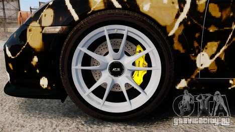 Porsche 911 GT2 RS 2012 BLOB для GTA 4 вид сзади