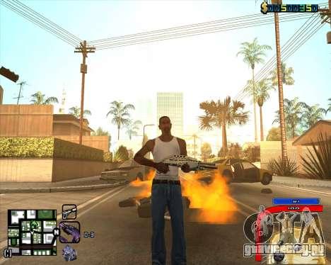C-HUD by Mark Osborne для GTA San Andreas