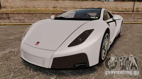 GTA Spano для GTA 4