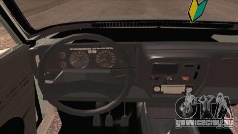 Peykan 80 Blackroof для GTA San Andreas вид сзади