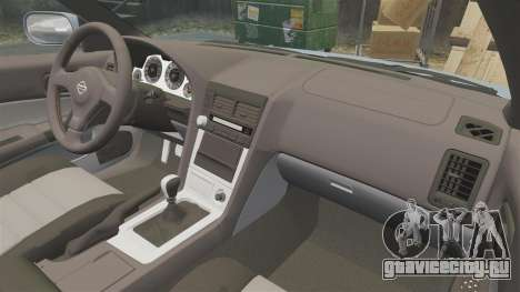 Nissan Skyline ER34 GT25 для GTA 4 вид сбоку