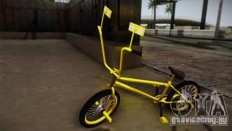 New BMX Yellow для GTA San Andreas