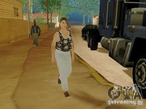 Пожилая женщина v.2 для GTA San Andreas десятый скриншот