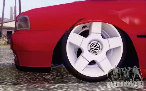 Volkswagen Parati SPS Club для GTA San Andreas вид сзади слева
