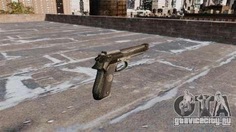 Самозарядный пистолет Beretta 92FS для GTA 4 второй скриншот