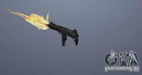 Пистолет-пулемёт UZI для GTA San Andreas одинадцатый скриншот