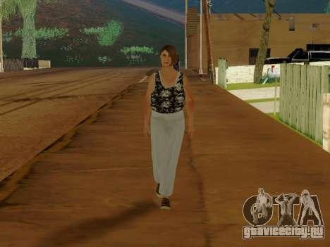 Пожилая женщина v.2 для GTA San Andreas второй скриншот