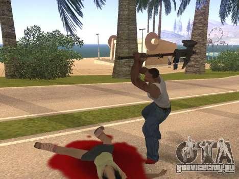 Baton Marker для GTA San Andreas четвёртый скриншот