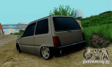 ВАЗ 1111 для GTA San Andreas вид сзади