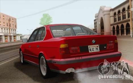 BMW M5 E34 1991 NA-spec для GTA San Andreas вид справа