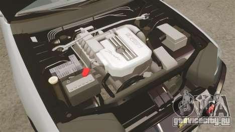 Nissan Skyline ER34 Police для GTA 4 вид изнутри