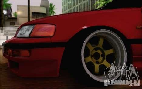 Honda CRX Low Gang для GTA San Andreas вид сзади слева