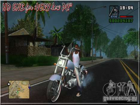 HD ENB for very low PC для GTA San Andreas пятый скриншот