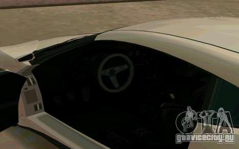 GTA V Dinka Jester для GTA San Andreas вид сзади