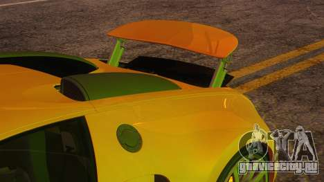 Bugatti Veyron 2009 для GTA San Andreas вид сбоку