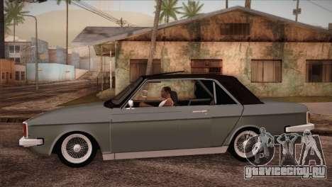 Peykan 80 Blackroof для GTA San Andreas вид слева