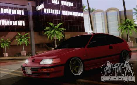 Honda CRX Low Gang для GTA San Andreas