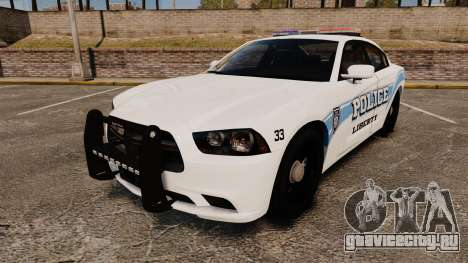 Dodge Charger 2013 Liberty Police [ELS] для GTA 4