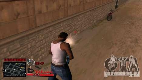 C-HUD Yakuza для GTA San Andreas четвёртый скриншот