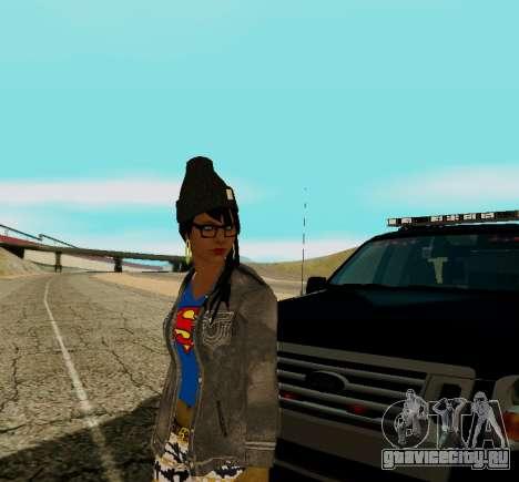 Girl Swagg для GTA San Andreas третий скриншот