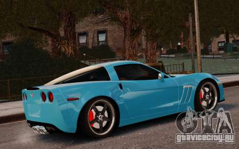 Chevrolet Corvette Grand Sport 2010 для GTA 4 вид слева