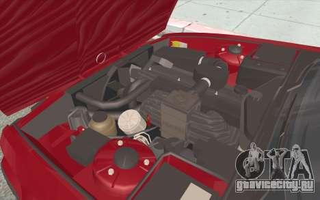 BMW M5 E34 1991 NA-spec для GTA San Andreas вид снизу
