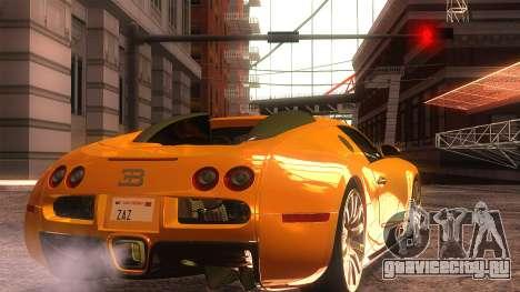 Bugatti Veyron 2009 для GTA San Andreas вид слева
