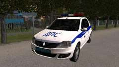Renault Logan ДПС для GTA San Andreas