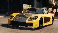 Mazda RX7 Veilside V8 для GTA 4