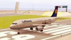 Airbus A320-200 Lufthansa для GTA San Andreas