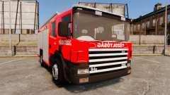 Венгерская пожарная машина [ELS]